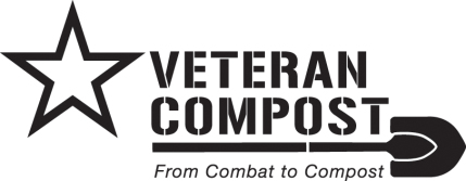 logo for Veterans Compost